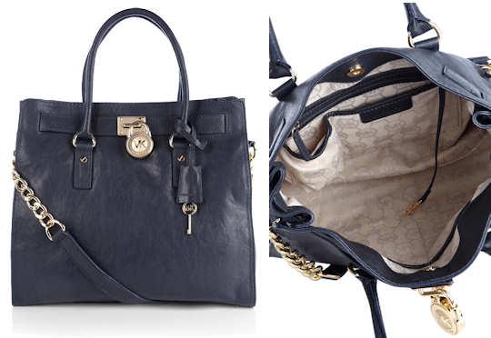 Michael Kors Hamilton Satchel Inside Large Cynthia Handbag