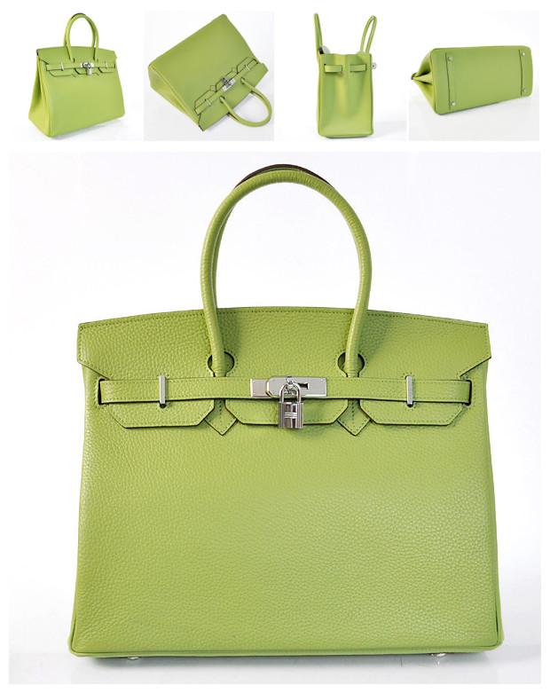 Popular Women s Hermes Birkin Grass Green Tote - Apple201206 s blog 6188217ae5ae6